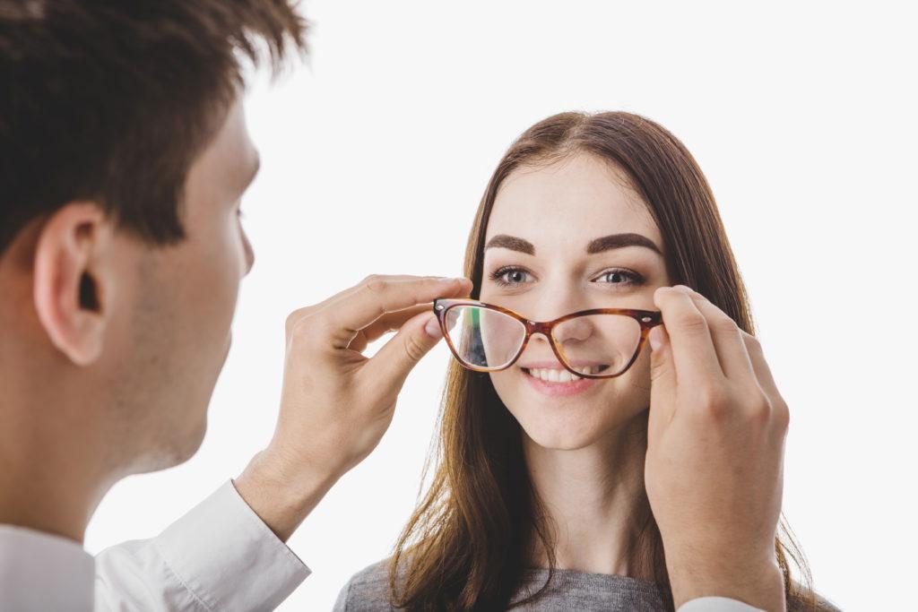 glasses lens